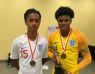 Coniah and Jadan named in latest England U17s squad