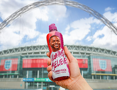 Raheem Links Up with Lucozade Sport