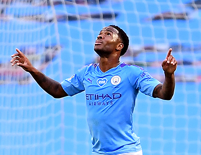 Raheem Shines As Man City Outgun Champions